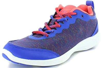 622cf6b43918 Vionic with Orthaheel Technology Womens FYN Lace Up Sneaker Cobalt Size 6.5