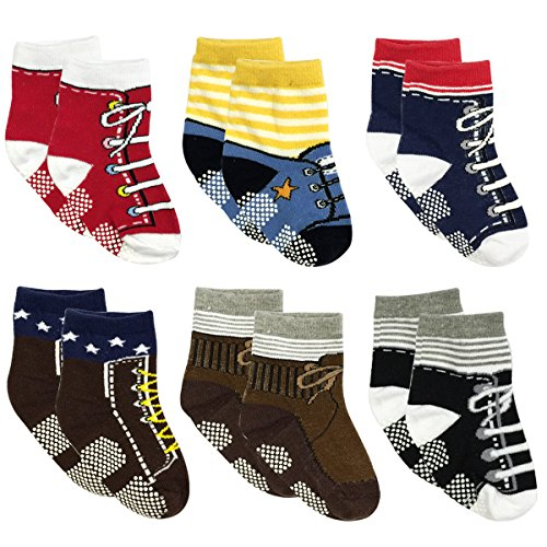 Wrapables Non Slip Sneaker Shoe Socks