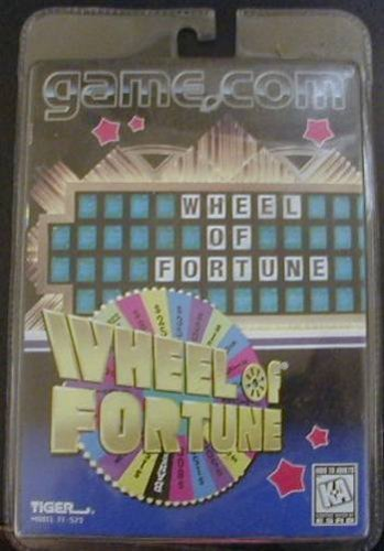 Wheel of Fortune for Tiger Game.com (Wheel Of Fortune Online Game)