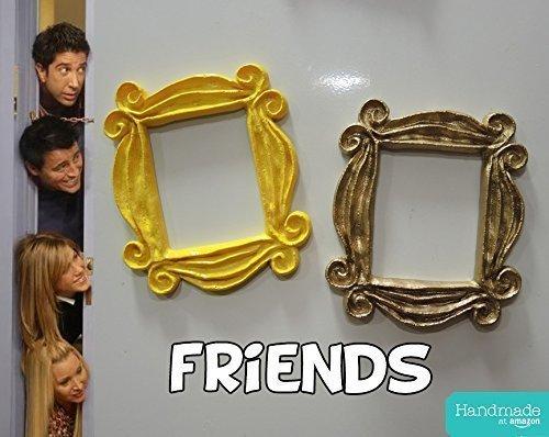 Friends TV Show peephole frame refrigerator FRIDGE MAGNET (3.9', 10cm).