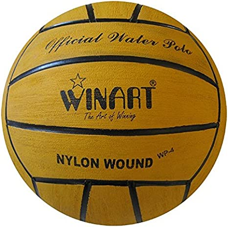 Water Polo Ball – winart tamaño 4 (Amarillo): Amazon.es: Deportes ...