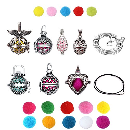 Aromatherapy Necklace Essential Sustained Christmas product image
