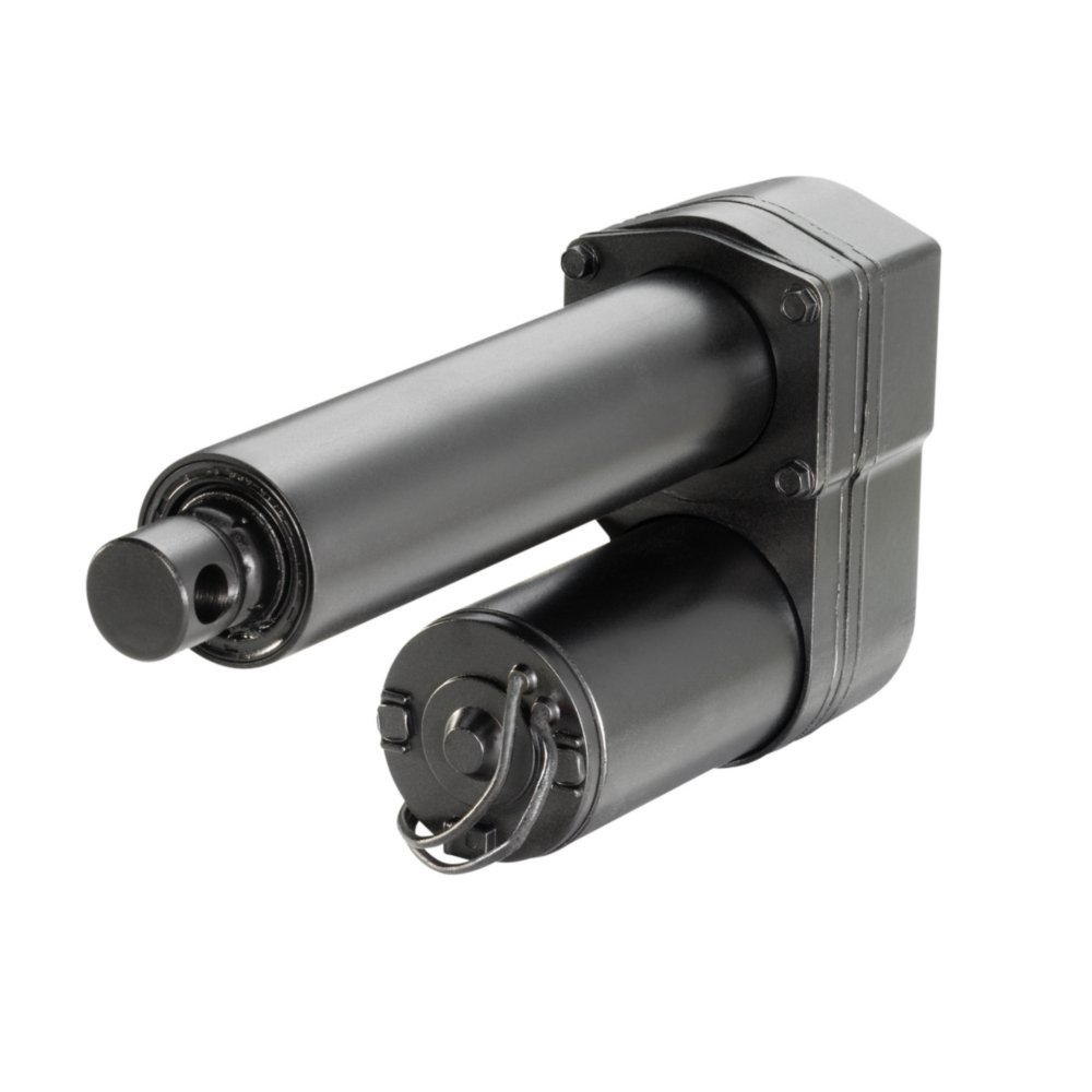 Electrak 10 Actuator 12 Vdc Ball screw 1000 lbf Capacity 4 in Stroke Thomson D12-20B5-04 20:1 Gear Reduction 0.45 in//s Travel rate Thomson industries