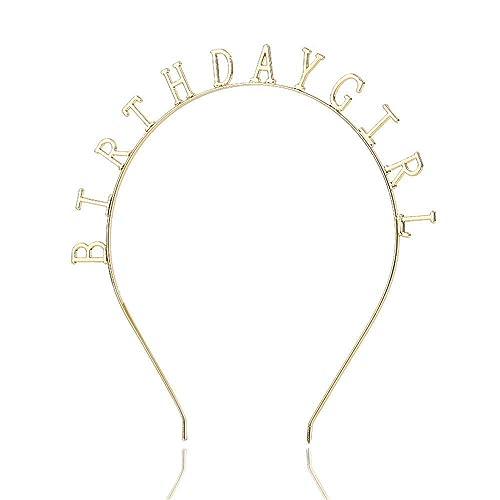 qin-er-Hair clip Diadema de niña de cumpleaños,Accesorios ...