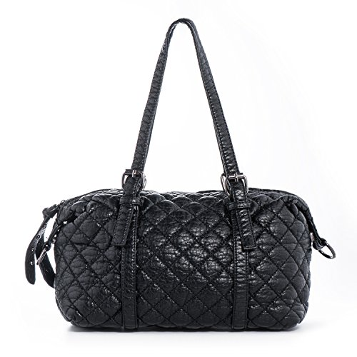 quilted fabric handbags for women - 7