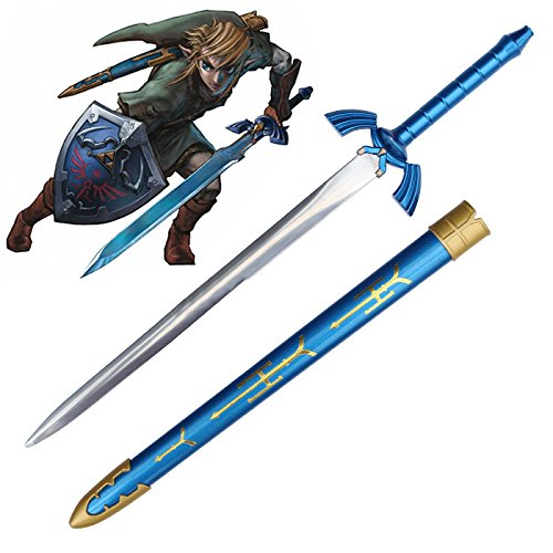The Legend of Zelda - Link's Master Sword (with Sheath) Letter Opener RealFireNSteel