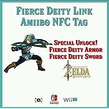Fierce Deity Link (Majora's Mask) Customized Amiibo NFC Tag Card - Zelda Breath of the Wild