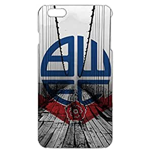Retro Bridge Design Bolton Wanderers Football Club Phone Case Solid Back Cover For Iphone 6 Plus / 6s Plus ( 5.5 Inch )