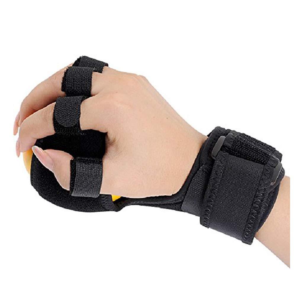 Furlove Finger Wrist Hand Orthosis with Ball Finger Device Training Equipment Stroke Hemiplegia Rehabilitation Health Assist Grasp