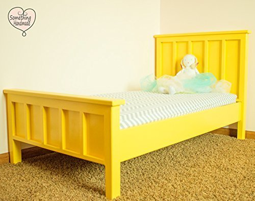 Custom handmade painted toddler bed SALE you choose color and finish can be antiqued and distressed Distressed Maple Finish