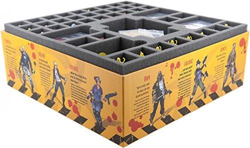 Foam tray value set for Zombicide Season 3 Rue Morgue by Feldherr