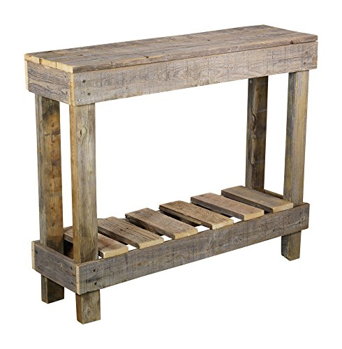 Del Hutson Designs Rustic Barnwood Sofa Table Usa Handmade
