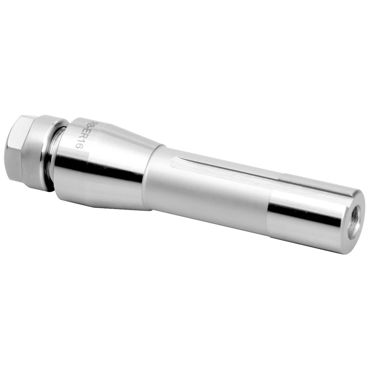 Pro Series by HHIP 3901-5063 R8 ER-20 Collet Chuck Drawbar End Collet Chuck with Hex Nut by HHIP