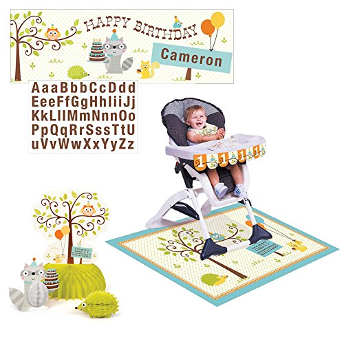 Happi Woodland Party Decorations Pack