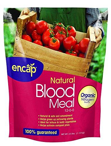 ENCAP Blood Meal Plant Fertilizer, Smart Release 12-0-0, 2.5-Pound