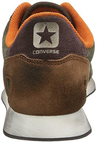 Converse Brown Dark Suede Sneaker Thyme Auckland Ox dark Metalp Racer unisex Adulto pqrP8p