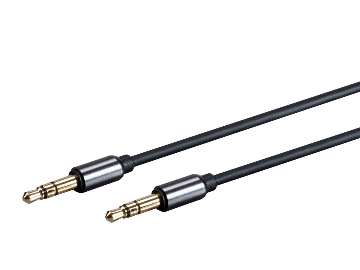 118631 Monoprice Onyx Series Auxiliary 3.5mm TRS Audio Cable 10ft