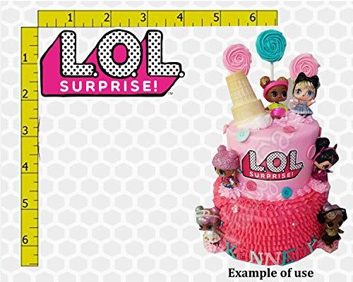 Suprise Dolls Birthday Edible Frosting Image Cake Decoration