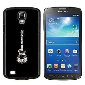 Eason Shop / Premium SLIM PC / Aliminium Casa Carcasa Funda Case Bandera Cover - Negro White Rock Hermosa Arte - For Samsung Galaxy S4 Active i9295
