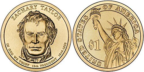 2009 P&D Zachary Taylor Presidential Dollar Set