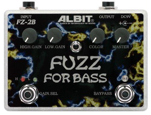 ALBIT FUZZ for BASS ベースファズエフェクター FZ-2B B00A8F4EZE