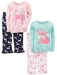 Simple Joys por Carter 's Niñas' Big 4Piezas Conjunto de Pijama