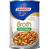 Swanson Vegetable Broth, 14.5 oz. Can  (Pack of 24)