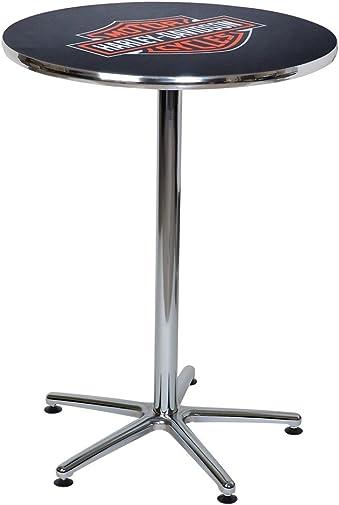 HARLEY-DAVIDSON Bar Shield Logo Round Cafe Table