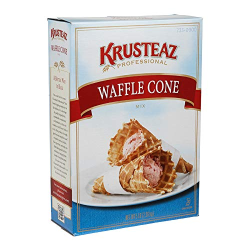Krusteaz Waffle Cone Mix 5 Lb (6 Pack) by Krusteaz