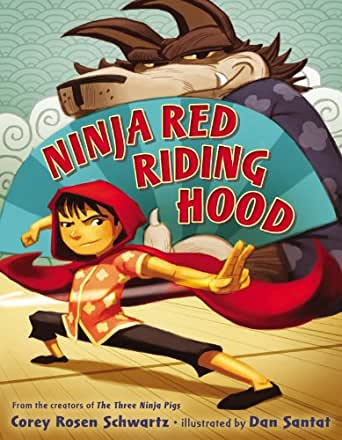 Ninja Red Riding Hood (English Edition) eBook: Corey Rosen ...
