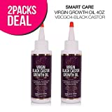 Smart Care Virgin Growth Oil Retention & Growth Formula Wild Growth (2 PACK, Black Castor)