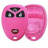 KeylessOption Just the Case Keyless Entry Remote Key Fob Shell-Pink