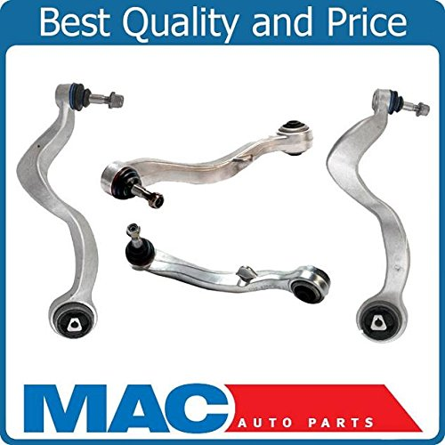 For BMW E65 E66 FRONT UPPER LOWER CONTROL ARM THRUST ARMS BALL JOINTS 750i ()
