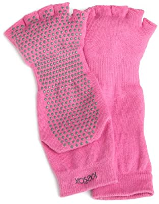 ToeSox Half Toe Yoga/Pilates Toe Socks With Grips by ToeSox