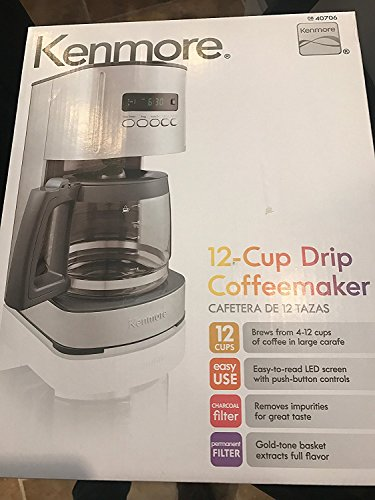 Kenmore 12 Cup Programmable Control Coffee