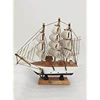 Handmade Feng Shui Statue Chinese Fabric Sailboat Home and Office help for Your Business