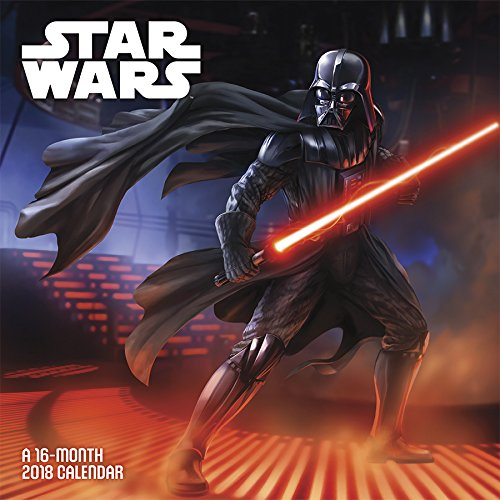 Star Wars Saga 2018 Wall Calendar