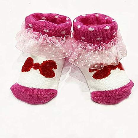 6-12 MOS BABY GIRL TODDLER SOCKS CHOOSE COLOR /& PATTERN