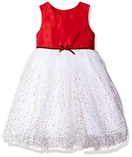 Marmellata Little Girls' Sparkle Ballerina Tutu Party Dress, Red, (Ballerina Wedding Dresses)
