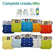 Pañales Ecológicos My Little Baby Paquete Complete Unitalla NIÑO