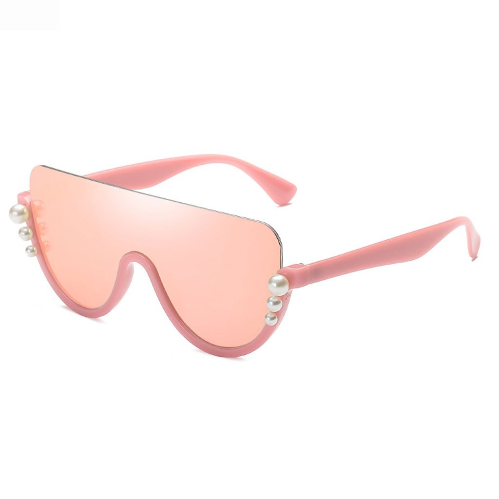 Pink frame pink lens Sunglasses, Sunglasses colorful Half Frame Casual Fashion Clothing with Shopping Driving Photography Comfortable AntiGlare Radiation Ladies Predective Glasses Polarized Shade Glasses