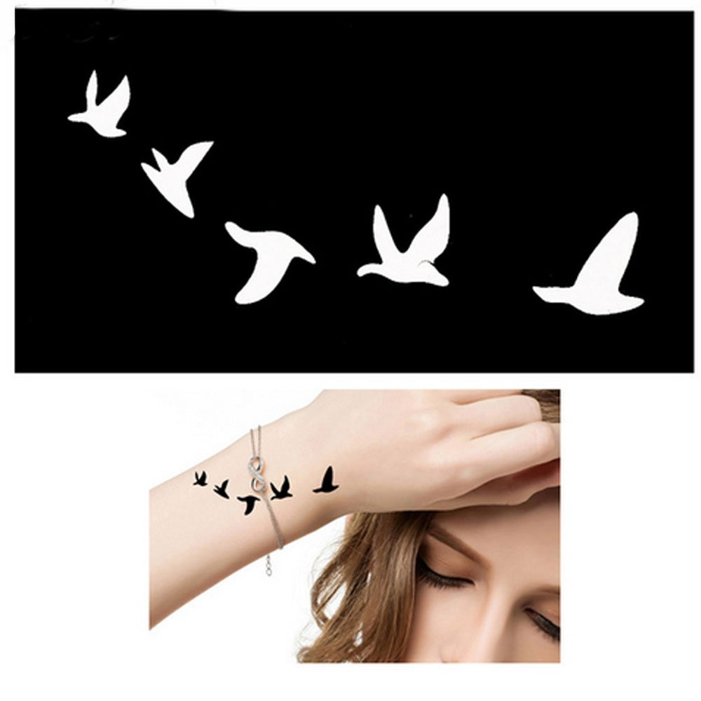 Body Plantillas para Tatuaje Tattoo temporalmente Colores Henna ...