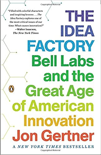 Book The Idea Factory: Bell Labs and the Great Age of American Innovation