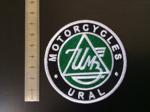 ECUSSON PATCHES AUFNAHER TOPPA - MOTORCYCLES URAL - THERMOCOLLANT BLUE HAWAI