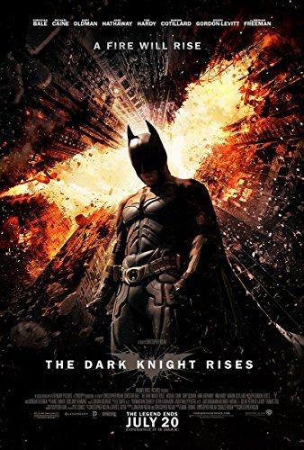 """Batman Movie Poster 24 X 36"""" the Dark Knight Rises"""