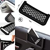 2Pcs Auto Car Seat Side Storage Mesh Net - Best Reviews Guide