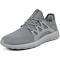 mxson Hombres de la Calle de malla transpirable ultra ligera Deporte–Zapatos de Senderismo Casual Sneakers