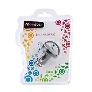 Mooster 8435353701328 - Mini cargador mechero usb