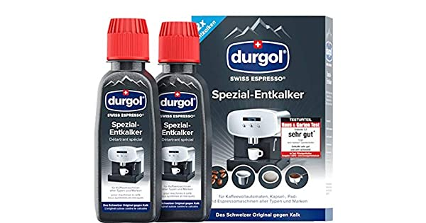 Amazon.com: Durgol Swiss Espresso machine decalcifier ...