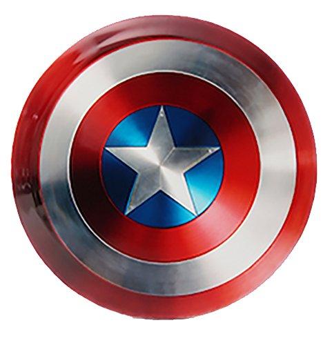 Dynamic Discs Marvel Avengers DyeMax 4 Inch Mini Fuzion Judge Disc Golf Mini Marker Disc - Captain America Shield